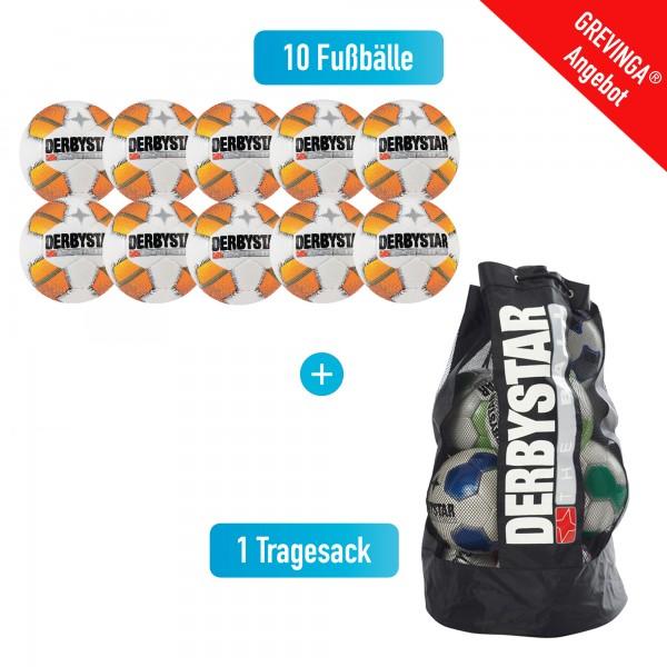 """Fußball Trainings-Paket """"Derbystar Stratos TT"""""""