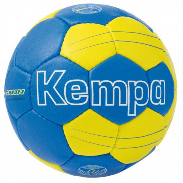"Kempa Handball ""Accedo Basic Profile"" royal/fluo gelb Gr. 2"