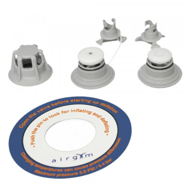 Ersatzventil Airgym® groß/schwarz