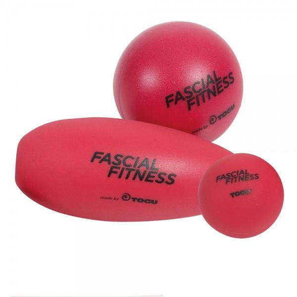 TOGU Fascial Fitness Ball 3er Set, Faszien-Massage