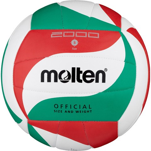 Molten Volleyball-Trainingsball V5M2000 synth. Leder