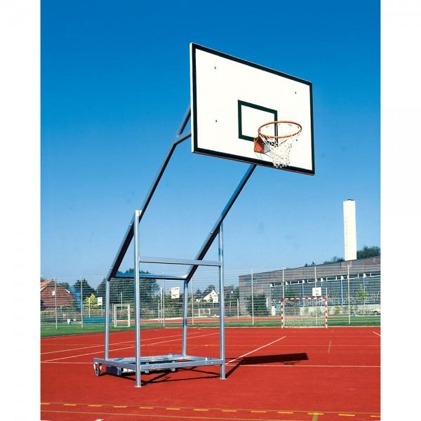 Fahrbare Basketballanlage