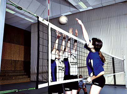 Volleyball-Turniernetze DVV II