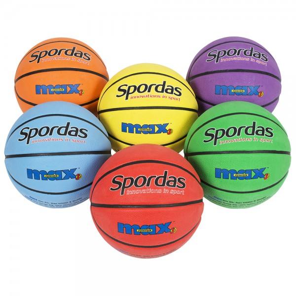 Spordas Max Basketball 24er Set
