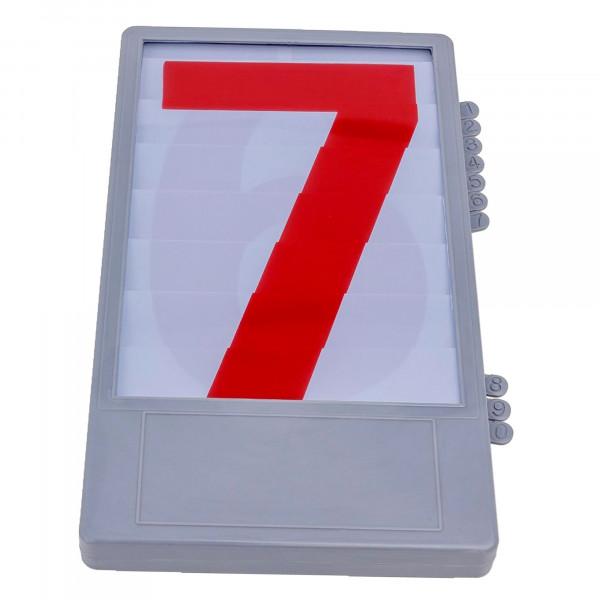 Ziffernkassette für Anzeigetafeln