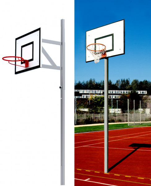 Basketball-Einmast Übungsanlage / Streetball-Anlage