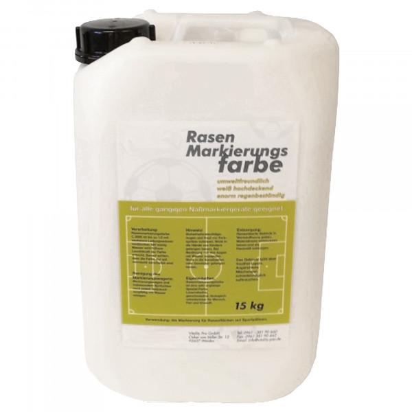 Rasenmarkierfarbe Profi, weiß, 15 kg