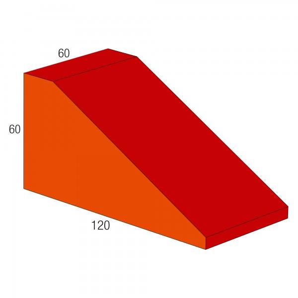 Baumodul Keil rot/orange