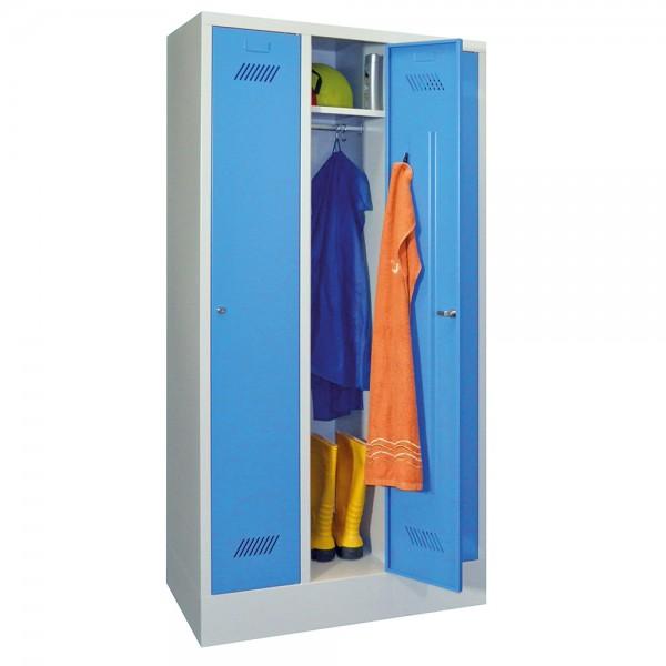 Garderobenschrank mit Sockel