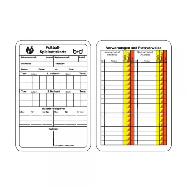 b+d Spiel-Notizkarten