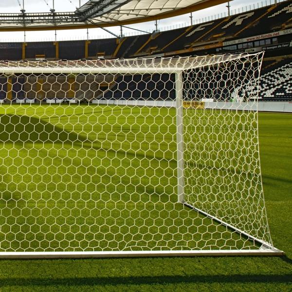 Fußball-Tornetz wabenförmig