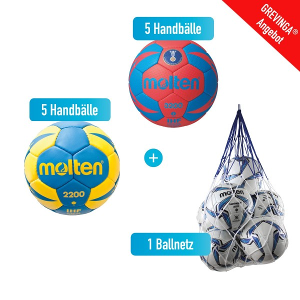 Handball-Top-Sparpaket Damen Gr. 2
