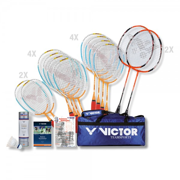VICTOR Badminton Schulsport-Paket Konzept-Set