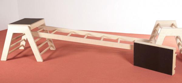 Einhängeleiter für Trapezbock