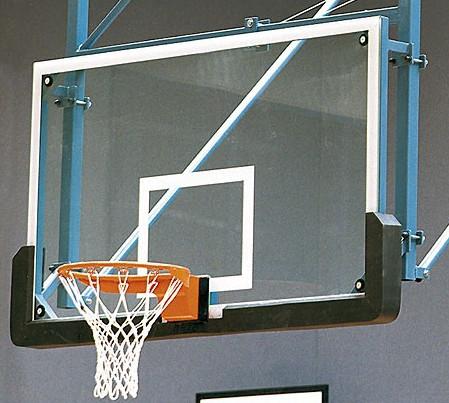 Basketball-Zielbrett WETTKAMPF aus Glas