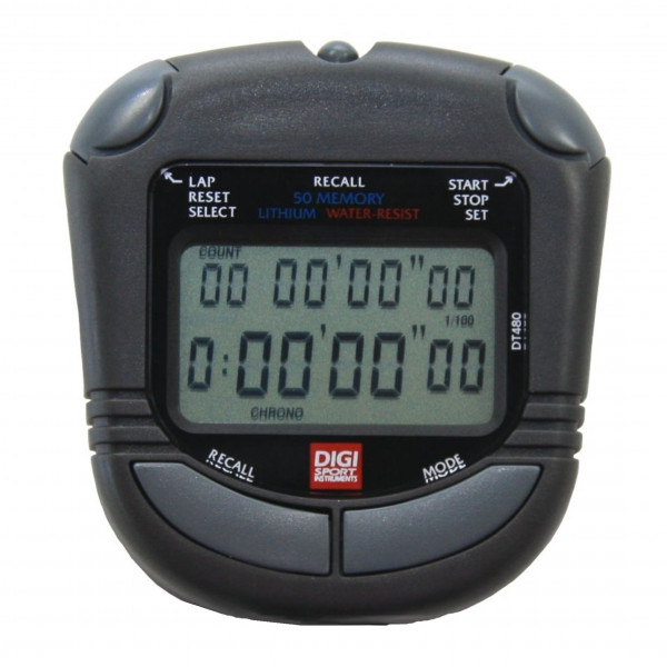 DIGI Stoppuhr PC-73 50 Memory