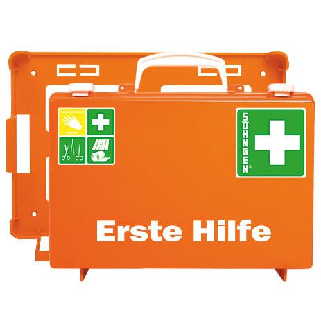 Erste-Hilfe-Koffer SN-CD orange