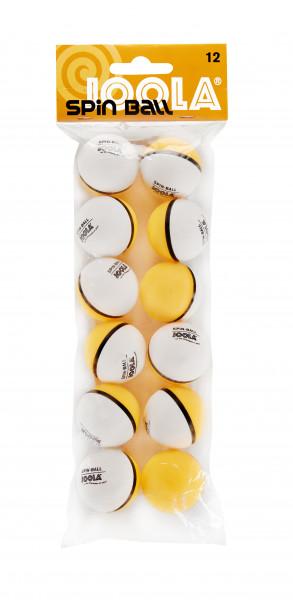 JOOLA Tischtennisbälle - Spinballs Tischtennisbälle 12er Set