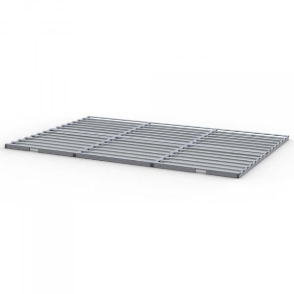 Lattenrost komplett aus Aluminium (Preis pro m²)