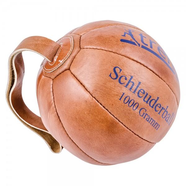 Schleuderball aus Leder