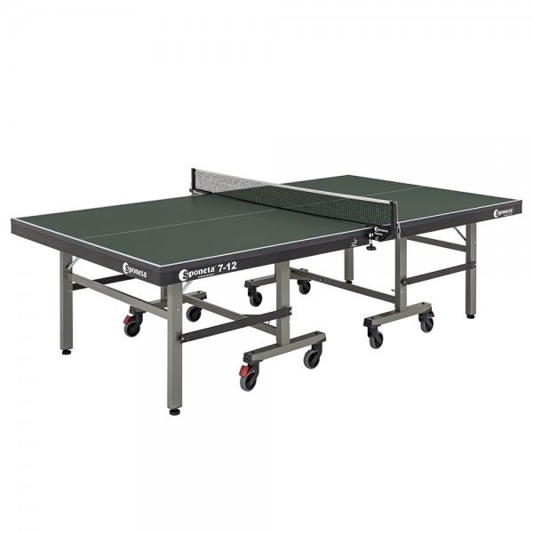 """Sponeta® Tischtennistisch - """"S7-Line"""" Halbautomatik-Untergestell"""