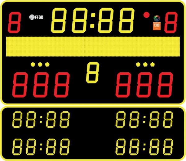 LED Anzeigetafel B&T 61.30 Matrix